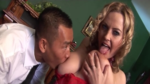 Petite young mature taboo orgy in office