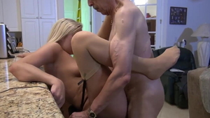 Loud sex in company with young girlfriend