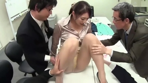 Blowjobs in office big tits asian