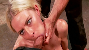 BDSM in company with babe Riley Evans