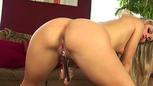 Czech blonde watching in HD