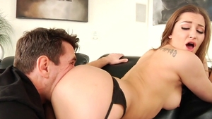 Hairy Dani Love receives getting facial HD