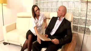 Hard pounding in the company of perfect pawg Jada Stevens