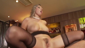 Young big ass blonde Daria Glover brutal sucking cock
