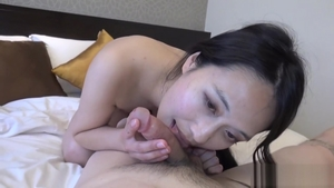 Beautiful asian MILF cosplay group sex at casting