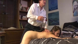 Babe Chanel Preston plus Preston Parker spanking