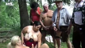 Masturbating outdoors pierced caucasian in HD