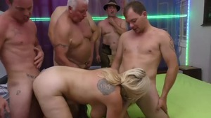 Hard sex accompanied by chubby caucasian mature