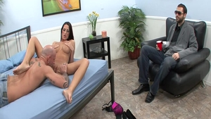 Cumshot starring big boobs latina housewife Kortney Kane