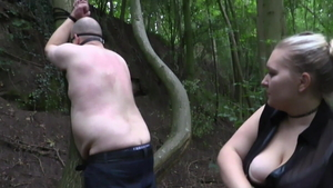 Femdom in the company of BBW
