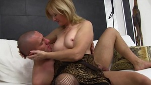 Fetish european cumshot on sofa