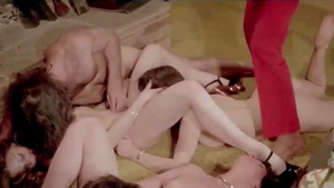 European pornstar Constance Money really enjoys orgy HD