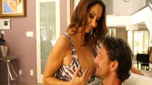 Super hot Ava Addams cumshot