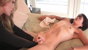 Very hot and young lesbians Dana Vespoli gonzo squirting