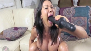 Very kinky asian granny Ava Devine wishes good fucking