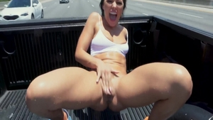 Squirts along with wild pornstar Adriana Chechik