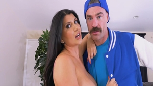 Busty Romi Rain blonde ass pounded video
