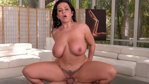 Stepmom Sheridan Love uncover natural tits