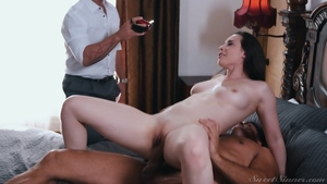 Big tits stepmom Casey Calvert gets a buzz out of good fucking
