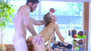 Busty with Nicole Aniston hard sex