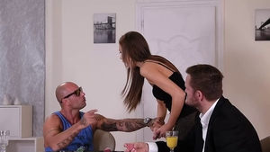 Mike Angelo in the company of Tina Kay penetration in HD