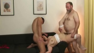 Young housewife reality orgy