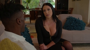 Angela White in sexy lingerie pussy fucking