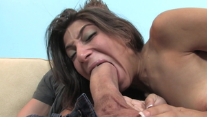 Tight latina nubile Allie Jordan rough pussy eating HD
