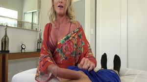 Big tits and very sexy blonde Tyler Nixon rough ass pounding