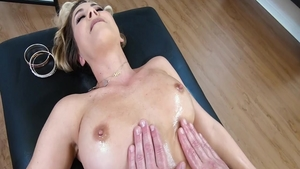 Girl Cherie Deville massage