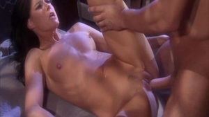 Erotic and skinny brunette India Summer homemade pussy eating