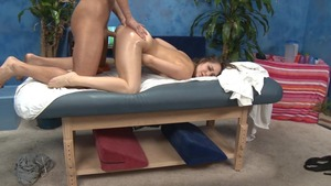Massage Session With pounding And Facial cumshot