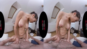 Sex scene in the company of amazing asian