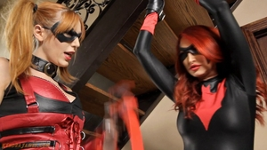 BDSM together with nice american redhead