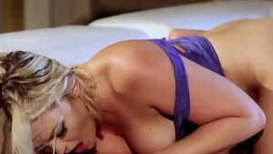 Hard fucking with sexy blonde