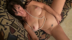 Hairy & chubby mature toys solo