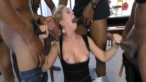 Wild Cherie Deville with herie Deville cum on face