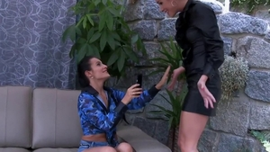 Lesbian Alexis Crystal feels the need for fingering HD