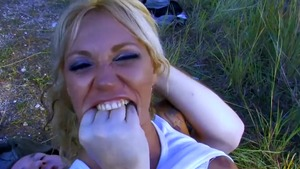 Big tits MILF Ginger Hell has a thing for hardcore sex in HD
