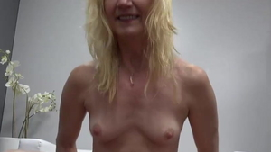 The best sex starring small tits blonde