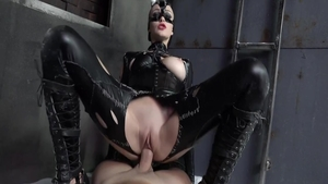 Horny Belle Claire pussy eating