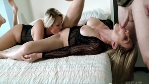American Cory Chase threesome