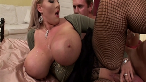 Big boobs BBW Laura Orsolya wishes for nailed rough
