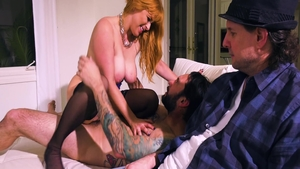Super sexy Penny Pax sucking dick cuckolding