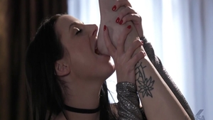 Rough sex together with big ass Angela White Skye Blue