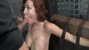Bondage in company with busty MILF Veronica Avluv