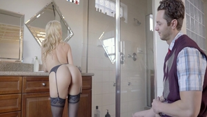 Alexis Fawx and blonde Lily Rader pussy fuck