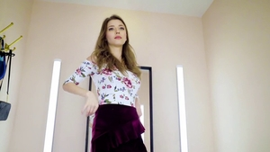 Mila Azul in panties raw finds dick to fuck