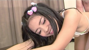 Petite chinese teen chick rough got her pussy pounded