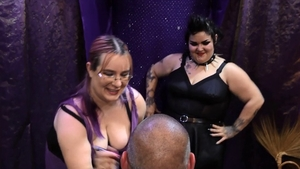 Very fat mature agrees to BDSM HD